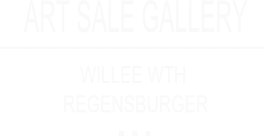 Art Sale Gallery Willee WTH Regensburger