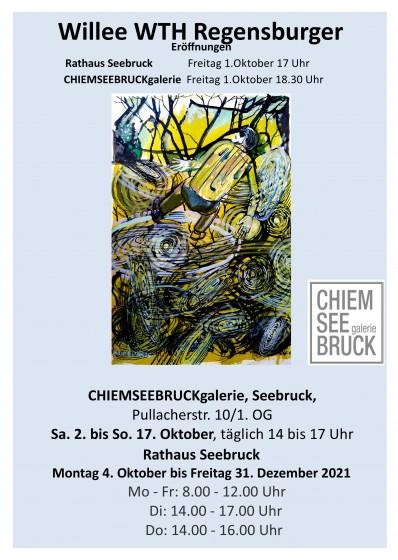 Plakat 1 Oktoberausstellung Seebruck Endfassung